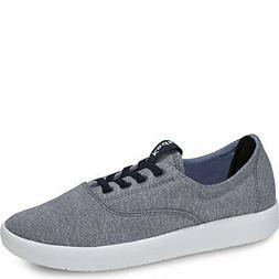 Keds Men's Chillax Washed Laceless Slip-On Sneaker Blue Dept