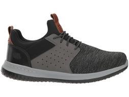 Skechers Men's Classic Fit Delson Camden Sneaker Black/Grey