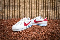 "Men's Nike Cortez Basic Leather OG ""Forest Gump"" Sneakers"