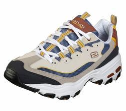 Skechers Men's   D'Lites Sneaker BROWN/TAN