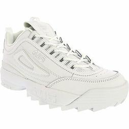 Fila Men's Disruptor Ii Premium Ankle-High Patent Leather Fa