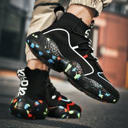 Men's Fashion Sneakers Outdoor Lightweight Sports Running Te