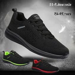 Men's Fashion Tennis Sneakers Breathable Casual Walking Athl