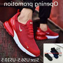 Men's Flyknit Air 270 Running Jogging Shoes Casual Shoes Lei