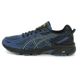 ASICS Men's Gel-Venture 6 Grand Shark/Neon Lime Running Shoe