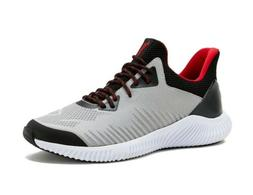 Avia Men's Gray Enduropro Lace Up Athletic Running Sneakers