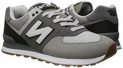 New Balance Men's Iconic 574 Sneaker, Marblehead/Black, Size