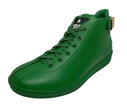 Travel Fox Men's Leather Green Sneakers 915601-20