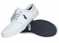 Polo Ralph Lauren Men's Leather Shoes Faxon Low White 816527