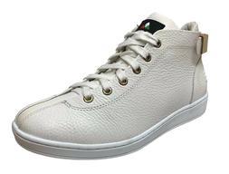 Travel Fox Men's Leather White Sneakers 915601-07