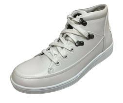 Travel Fox Men's Leather White Sneakers 916103-107