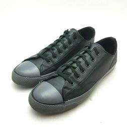 Airwalk Men's Legacee Black and Gray Smooth Faux Leather Sne