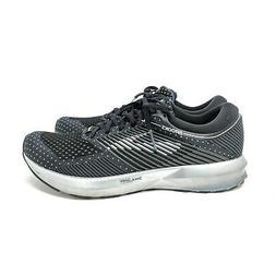 Brooks Men's Levitate Road Running Shoes Black Silver Athlet