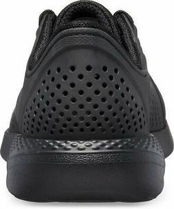 Crocs Men's Literide Pacer Sneaker, Black/Black, Size 11.0 Z