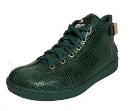 Travel Fox Men's Malibu Green Snake Print Embossed Leather S