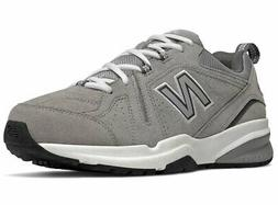 New Balance Men's MX608v5 Grey Suede Synthetic fashion-sneak