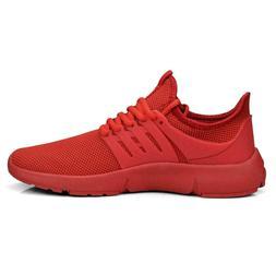 Feetmat Men's Non Slip Mesh Sneakers Lightweight Breathable
