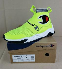 Men's Champion Rally Pro Shoes Sneakers Casual Neon Light/Bl