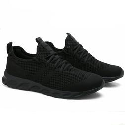 Men's Running Breathable Tennis Shoes Sports Walking Casual