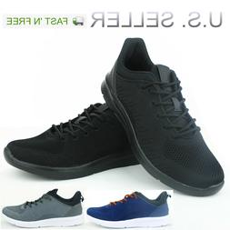 Men's Running Shoes Sneakers Athletic Casual Lightweight Tra