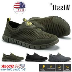 Men's Running Sneakers Breathable Athletic Casual Sport Hiki