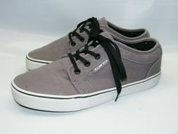 Airwalk Men's Shoes Size 8 Gray Athletic Skateboard Sneakers