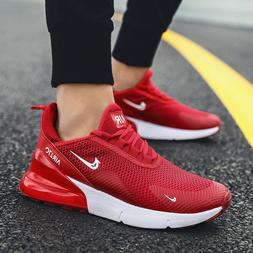 Men's Breathable Sneakers Casual Air Mesh Running Walking Sp