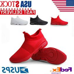 Men's Sneakers Casual Lightweight Walking Breathable Athleti