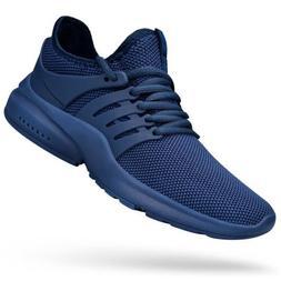 QANSI Men's Sneakers Non Slip Work Shoes Ultra Lightweight B