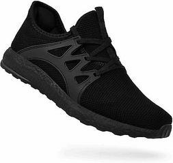 QANSI Men's Sneakers Non Slip Work Shoes Ultra Lightweight,