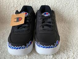Champion Men's Super C Court Low Shoes, Black Style Size 12