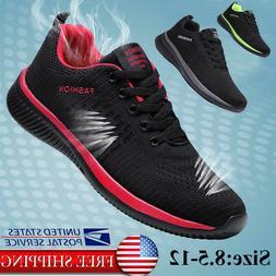 Men's Tennis Casual Sneakers Breathable Walking Athletic Spo