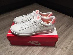 Men's Nike Tennis Classic Ultra Leather Ivory Aluminum Shoe