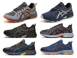 ASICS Men's Trail Running Sneakers, 6 Colors, Medium D & Wid