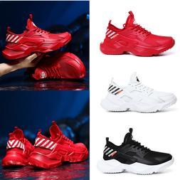 Men's Ultralight Running Shoes Sport Tennis Casual Soft Bott