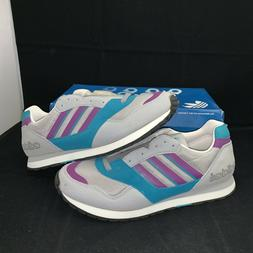 Men's Vintage 80s ADIDAS QUASAR Running Jogging Sneakers Sz