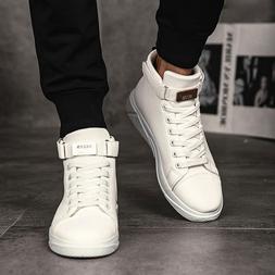 Men's Vulcanized Shoes Slip-on High <font><b>Top</b></font>