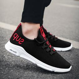 Men Sneakers Casual Breathable Canvas Shoes Comfort Running