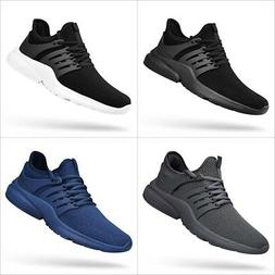 QANSI Men Sneakers Mesh Breathable Casual Running Shoes Ultr