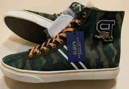 Polo Ralph Lauren Men Solomon II Varsity Camo Suede High-Top