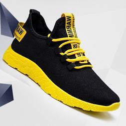 Men Sport Running Shoes White <font><b>Sneakers</b></font> B