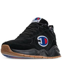 CHAMPION MENS 93EIGHTEEN ATHLETIC TRAINING SNEAKERS BLACK AN