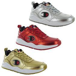 Champion Mens 93Eighteen Metallic Leather Sneaker Shoes