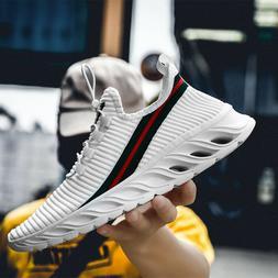 Mens Breathable Running Shoes Fashion Gym Tennis Sports Athl