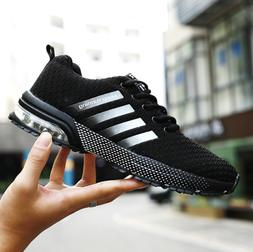 Mens casual sneakers breathable running shoes fashion soft a