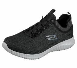 Skechers Mens Elite Flex Hartnell Sneakers 52642 Black/Gray