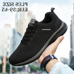 Men's Walking Running Shoes 10 Breathable Gym Athletic Cas