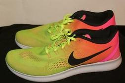 Nike Mens Free Rn Multi-Color Running Shoes 12 athletic snea