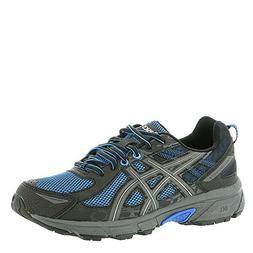 ASICS Mens Gel-Venture 6 Running Shoe, Victra Blue/Blue/ Bla