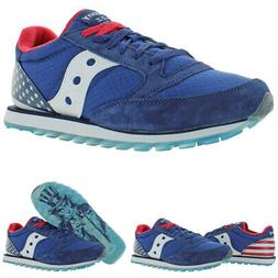 Saucony Mens Jazz LowPro Trainers Suede Mesh Sneakers Shoes